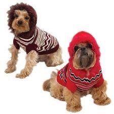 Zack & Zoey Brown Zig Zag Striped Hoodie