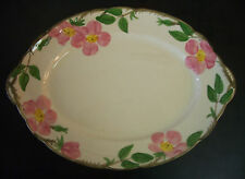 "Franciscan Desert Rose Oval Serving Platter -14.25"" USA"