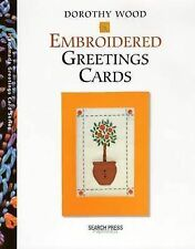 Embroidered Greetings Cards Book - Dorothy Wood