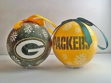 Green Bay Packers NFL LED Light Up Christmas Tree Bauble Ball Ornament