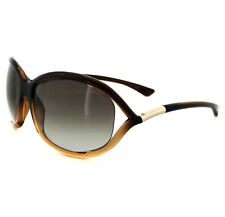 Tom Ford Gafas de Sol 0008 Jennifer 50F Marrón Oscuro Desteñido Marron Degradado