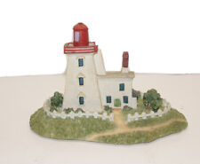 New ListingGiftcraft Lighthouse #845844 Block House Point, Pei Lighthouses Of North America