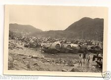 Hong Kong photograph 1937 from family album taken after the typhoon Harbour lot3