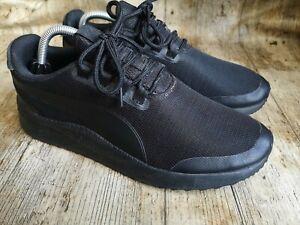 Men's Puma Trainers Black size uk 8