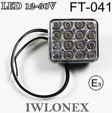 1x LED feux de recul e20 Abe rückfahrlicht rückfahrleuchte 12v 24v