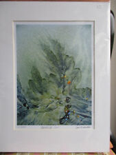 Signed  limited edition print 'Reaching Out' by Jasmine Mercer