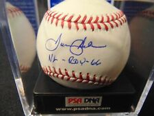 """TOMMY HELMS """"NL-ROY-66"""" PSA/DNA Reds Great Autographed ROML Baseball GRADED 8.5!"""