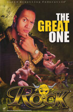 POSTER:WRESTLING: THE ROCK - THE GREAT ONE - WWF - FREE SHIPPING !  #3471 RP56 G