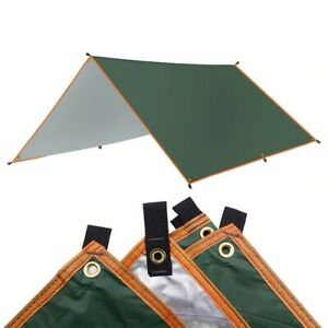 Awning Waterproof Tarp Tent Shade Ultralight Garden Canopy Sunshade Camping