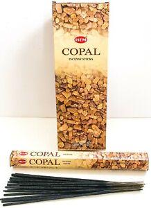 Hem Copal Incense Sticks - Cleansing Pick 20-40-80-100-120-160-200 Free Shipping