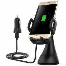 Wireless Mobile Phone Car Chargers for Samsung Galaxy S7