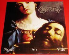Cryptopsy: None So Vile LP Black Vinyl Record + Poster 2016 Hammerheart EU NEW