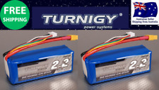 Turnigy 2200mAh 4S 40C 14.8v Lipo Pack XT60 JST Battery RC Plane Car Boat 2-Pack