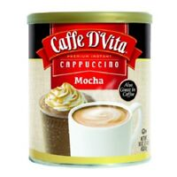 ( 6 Pack ) Caffe D'vita Mocha Cappuccino Mix, Blended Hot or Iced Coffee 16 Oz