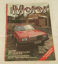 Modern Motor January 1980 Ford LTD Gemini Toyota T18