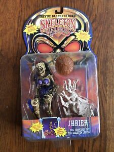 Vintage Skeleton Warriors - SHRIEK Playmates 1994 Action Figure NIP
