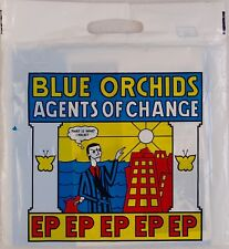 """BLUE ORCHIDS: Agents of Change 12"""" Rough Trade EP '82 New Wave w/ Orig Bag"""
