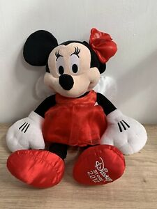 """Disney Store Minnie Mouse 16"""" Soft Plush Toy Angel Fairy Wings 2012 VGC"""
