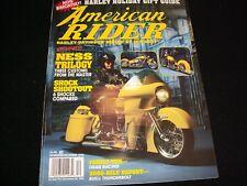 AMERICAN RIDER  Magazine<>NOV/DEC 1994<>HARLEY HOLIDAY GIFT GUIDE