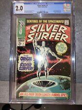 Silver Surfer #1 CGC 2.0