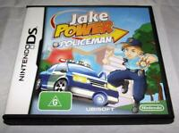 Jake Power Policeman Nintendo DS 2DS 3DS Game *Complete*