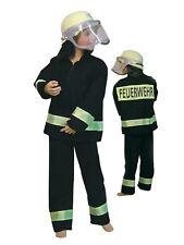 Feuerwehrmann Uniform Kinder Karneval Kostüm