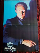 MIDGE URE - MAGAZINE CLIPPING- ( CENTRESPREAD PICTURE ) PIN -UP