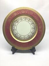 Heinrich & Co. H & Co Selb Bavaria Edgerton Gold Encrusted Plate