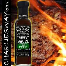 JACK DANIEL'S SALSA STEAK BARBECUE HOT PEPPER 260 Gr EDIZIONE LIMITATA BBQ SAUCE