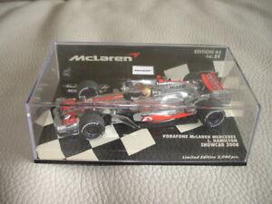 F1 Minichamps McLaren Mercedes Showcar 2008 - Lewis Hamilton 1/43 OVP
