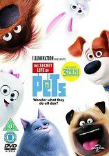 The Secret Life Of Pets (DVD) 3 Mini Movies Kevin Hart BRAND NEW REGION 2