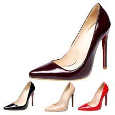 Evening & Party Patternless Court Standard Width (B) Heels for Women