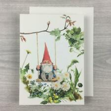Rien Poortvleit Gnome Thank You Friendship Notecard Greeting Card Wil Huygen
