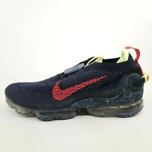 Nike Air VaporMax 2020 Flyknit Obsidian Red CW1765-400 New Men's Shoes No Lid