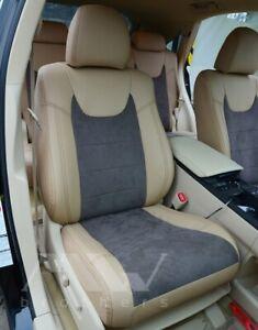 Set seat covers LEXUS RX350 III (2009-2015) Eko-Leather Alcantara Premium