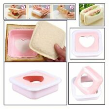 Kitchen Accessories Mold Cutter Bread Toast Making Mold Mould Sandwich Maker