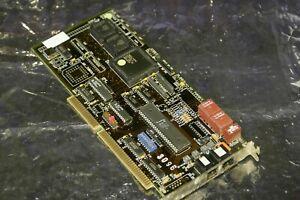 Aktive ISDN Sxn SCOM Karte RJ45 u. RJ11 Diehl Elektronik 1992 - ISA C09240 FAX