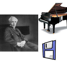 B Bartok Classical Solo Piano Collection for Pianodisc PDS128 Player Floppy Dsk.