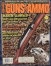"""Magazine GUNS & AMMO July 1982 !!! COLT MK V  """"Trooper"""" .357 Magnum REVOLVER !!!"""