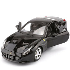 Bburago 1:24 Ferrari California T Diecast Model Sports Racing Car Vehicle Black