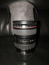 Canon EF 24-105mm f/4 IS L USM Lens with soft case
