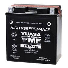 Bateria Yuasa YTX20CH-BS sin mantenimiento