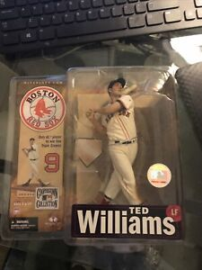 McFarlane Ted Williams Red Sox Figure Cooperstown Collection Series 4