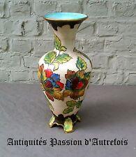 B2017406 - Vase en céramique H.Bequet - Quaregnon Belgique - 37 cm de hauteur