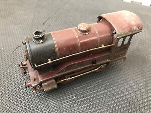 Vintage Hornby O Gauge L.M.S Clockwork Locomotive