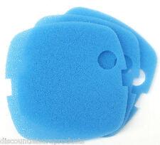 Pack de 3 sun sun HW-302 externe aquarium filter media bleu mousse éponge pads