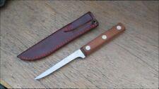 """FINEST Sm. Vintage Case XX 504 - 4-1/2"""" Carbon Steel Fisherman Fish Fillet Knife"""