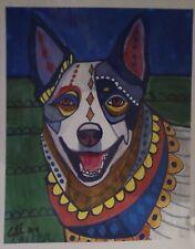 Dog & Cat Art Prints Lot Artist Heather Galler