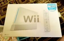 Nintendo RVL-101 Wii Console - White, 2 Controllers, 10 Games Bundle Lot