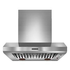 KitchenAid 36'' Wall-Mount Canopy Hood Commercial-Style KXW9736YSS